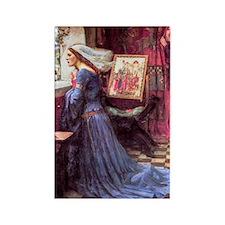 Waterhouse: Fair Rosamund Rectangle Magnet