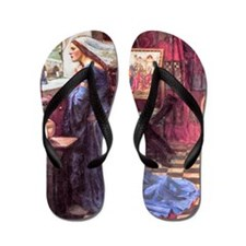 Waterhouse: Fair Rosamund Flip Flops