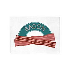 Bacon Breakfast 5'x7'Area Rug