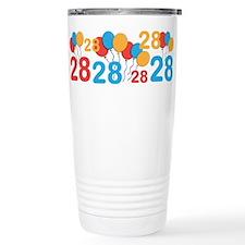 28 years old - 28th Birthday Travel Mug