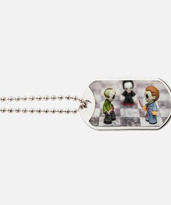 Horror Game Dog Tags