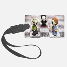 Horror Game Luggage Tag