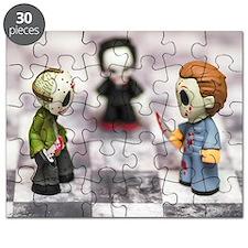Horror Game Puzzle