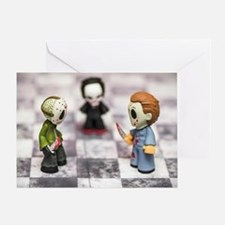 Horror Game Greeting Card
