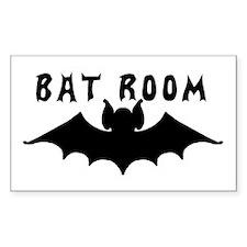 Bat Room Door Decal