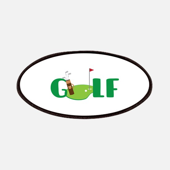 GOLF CLUBS Patches