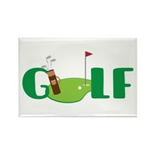 GOLF CLUBS Magnets