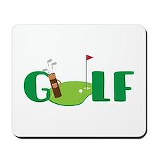 GOLF CLUBS Mousepad
