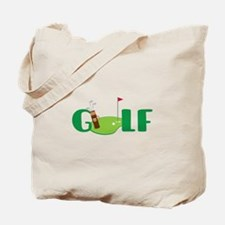 GOLF CLUBS Tote Bag