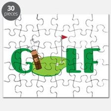 GOLF CLUBS Puzzle
