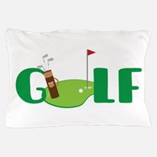 GOLF CLUBS Pillow Case