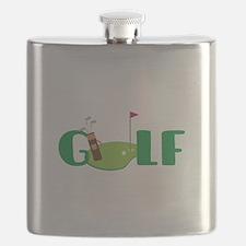 GOLF CLUBS Flask