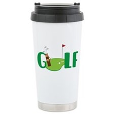 GOLF CLUBS Travel Mug