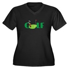GOLF CLUBS Plus Size T-Shirt