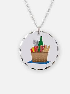 Picnic Basket Necklace