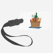 Picnic Basket Luggage Tag