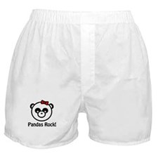 Pandas Rock Boxer Shorts