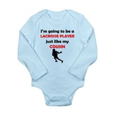 Lacrosse Player Like My Cousin Body Suit
