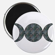 Triple Moon Magnet - Brocade