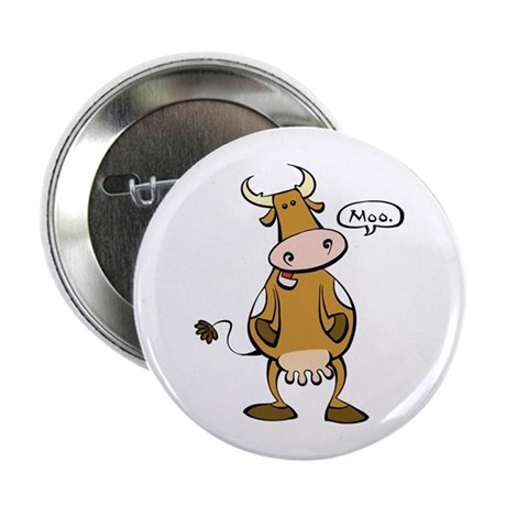 "Moo Cow 2.25"" Button (100 pack)"