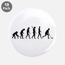 "Floorball Evolution 3.5"" Button (10 pack)"