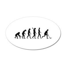 Floorball Evolution Wall Decal