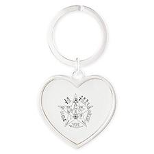 Funny Levi Heart Keychain