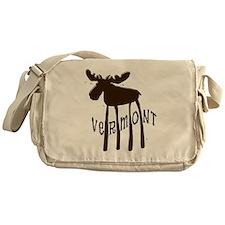 Vermont Moose Messenger Bag