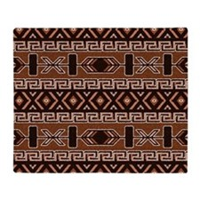 Southwest indian design Throw Blanket