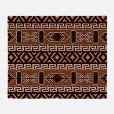 Cute Aztec Throw Blanket