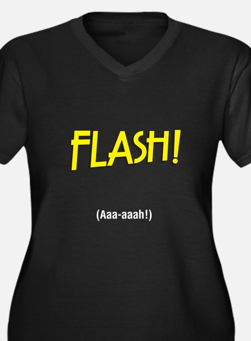 flashaaah Plus Size T-Shirt
