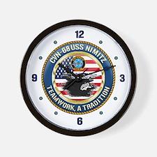 CVN-68 USS Nimitz Wall Clock