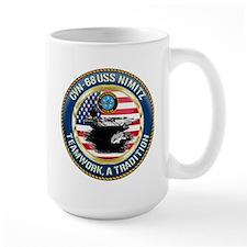 CVN-68 USS Nimitz Mug