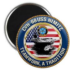 CVN-68 USS Nimitz Magnet