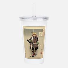 Funny Samurai Acrylic Double-wall Tumbler