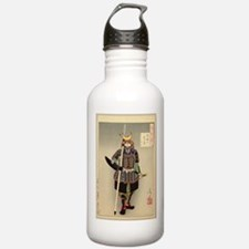 Cute Samurai Water Bottle