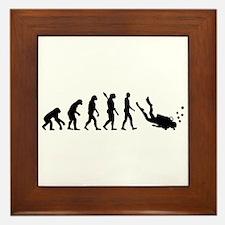 Evolution Diving Framed Tile