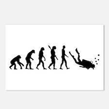 Evolution Diving Postcards (Package of 8)