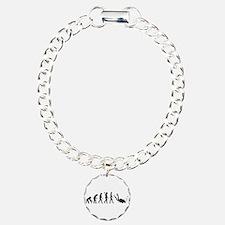 Evolution Diving Charm Bracelet, One Charm