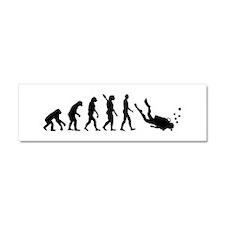 Evolution Diving Car Magnet 10 x 3