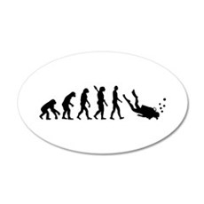 Evolution Diving Wall Decal
