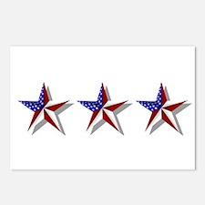 American Stars Postcards (Package of 8)