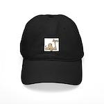 Camel Black Cap