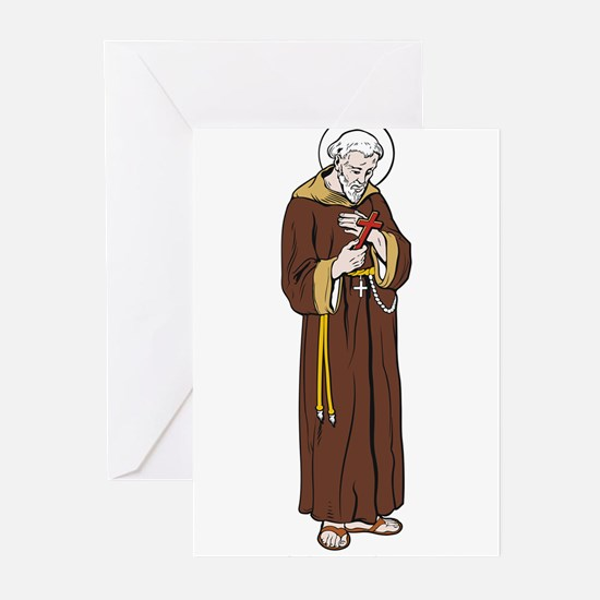 StFrancisAssisi Greeting Cards