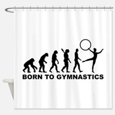 Evolution Gymnastics Shower Curtain