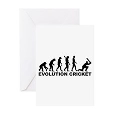 Evolution Cricket Greeting Card