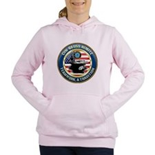 CVN-68 USS Nimitz Women's Hooded Sweatshirt