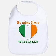Wellesley, Valentine's Day Bib