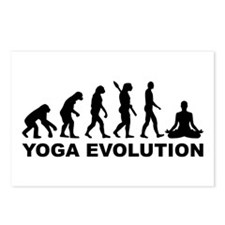 Yoga evolution Postcards (Package of 8)