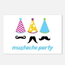 Mustache Party Postcards (Package of 8)